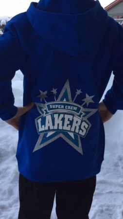 Hettegenser barn Lakers