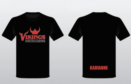 T-shirts Vikings