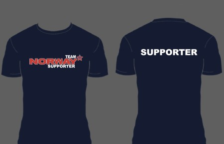 Navy T-shirts Team Norway